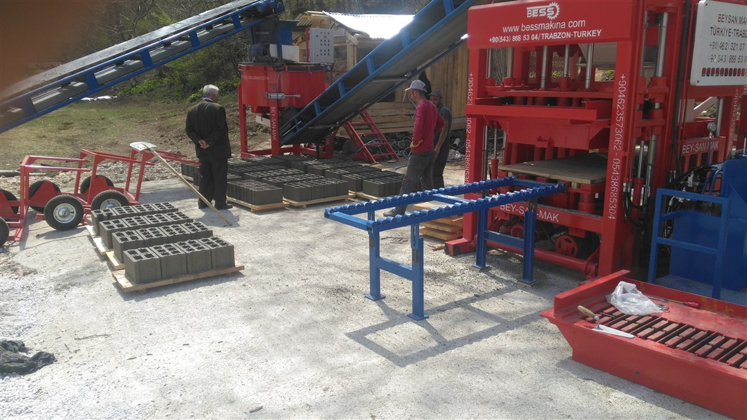 block making machine for concrete products